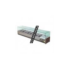 REFRIGERATED DISPLAY FOR VIP 5 GN 1/4 INFREDIENTS