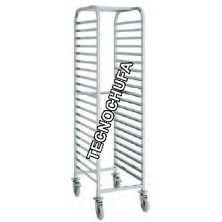 CPAD PASTRY TROLLEY (60 X 40 CMS TRAYS)