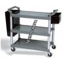 CS97005 SERVICE TROLLEY WITH ACCESSORIES