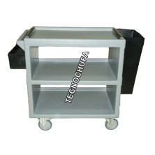 CSK85-ECO SERVICE TROLLEY WITH ACCESSORIES