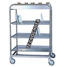 CSP100-V DRAINER TROLLEY FOR PLATES AND GLASSES