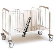 PLATE HOLDER AND TRAY TROLLEY CPP100X-INOX