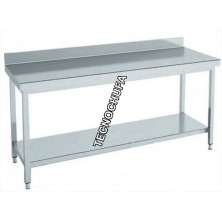 MTEB86 STAINLESS STEEL WALL TABLE - 1000 X 700 X 850 MM