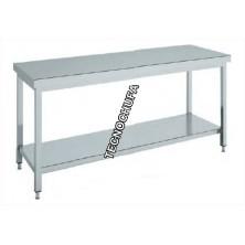 CENTRAL WORK TABLE INOX MTCB146 - 1400 X 600 X 850 MM