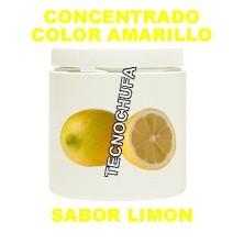 CONCENTRADO DE COLOR AMARILLO Y SABOR LIMON PARA ALGODON DULCE
