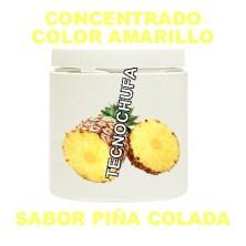 CONCENTRADO DE COLOR AMARILLO Y SABOR PIÑA COLADA PARA ALGODON DULCE
