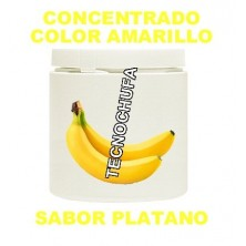 CONCENTRADO DE COLOR AMARILLO Y SABOR PLATANO PARA ALGODON DULCE