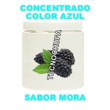 CONCENTRADO DE COLOR AZUL Y SABOR MORA PARA ALGODON DULCE