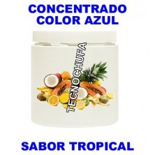 BLUE TROPICAL FLAVOR AND COLOR CONCENTRATE FOR COTTON CANDY