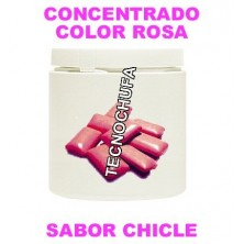CONCENTRADO DE COLOR ROSA Y SABOR CHICLE PARA ALGODON DULCE