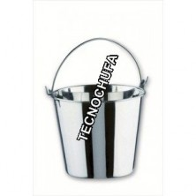 PAIL STAINLESS STEEL 6L