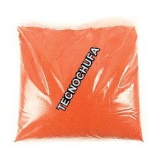 BAG OF 1 KG. SUGAR SEMICONCENTRATED RED