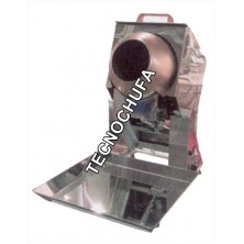 PRALINE ROASTER MACHINE MINI TECNO INOX - 6 LITERS/HOUR