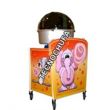 STREET CANDY CART FOR COTTON CANDY MACHINE