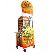 STREET POP 2 CART FOR POPCORN MACHINE WITH CANOPY