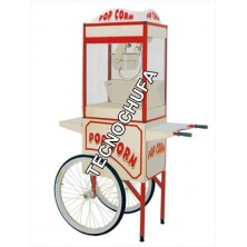 STAINLESS STEEL CART FOR POPCORN MACHINE