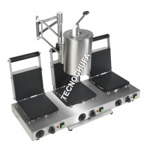 MAQUINA PROFESIONAL PARA HACER BARQUILLOS S-TRIPLE