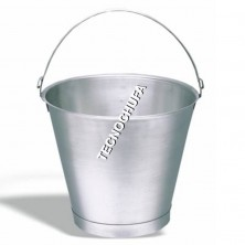 PAIL STAINLESS STEEL REINFORCED 15L