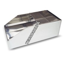 STAINLESS STEEL MANUAL FLOUR SIFTER 37 CMS