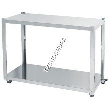 SUPPORT TABLE WITH WHEELS FOR CHICKENS MS-ECO