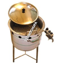 CHESTNUT GRILL / GAS FRITTER FRYER WITH MULTIFRIT-2B SUPPORT