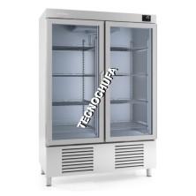 FREEZING CABINET AC.INOX AN 1002 BTCR (GLASS DOORS)