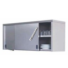 STAINLESS WALL CABINET WITH SLIDING DOOR APC-416