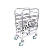GASTRONORM LOW TROLLEY CGN6-2 / 1