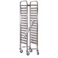 GASTRONORM LOW TROLLEY CGN15-1 / 1