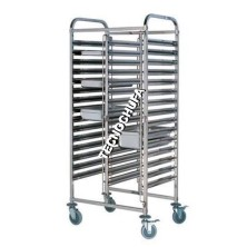 GASTRONORM LOW TROLLEY CGND32-1/ 1