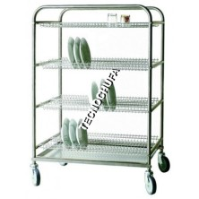 CSP100-TP DRAINER TROLLEY FOR PLATES