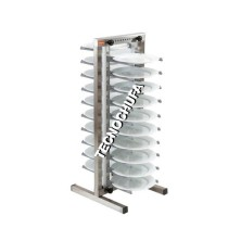 TROLLEY FOR PREPARED DISHES CPP-20 INOX / ALU  (ADJUSTABLE).