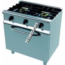 ECO 2CH-80 SERIES GAS COOKER WITH OVEN