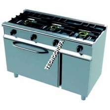 ECO 3CH-120 SERIES GAS COOKER WITH OVEN