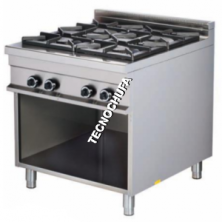 ECO-904 SERIES GAS COOKER ON CABINET