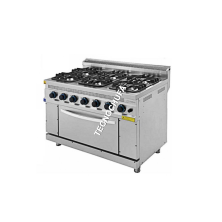 KITCHEN WITH GAS OVEN CHG-120 (4 FIRES)