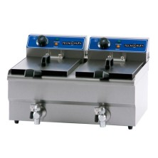 DOUBLE ELECTRIC FRYER FEG-8,5X2L (REMOVABLE BOWL AND TAP)