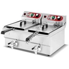 ELECTRIC FRYER EF12D-FEG (DOUBLE BODY - 4.5x2 KW)
