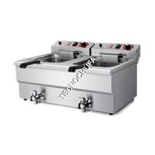 ELECTRIC FRYER EF14D-FEG (DOUBLE BODY / 380V - 5 KW)