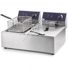 ELECTRIC FRYER FE-11D (DOUBLE - 3,5x2 KW)