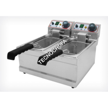 ELECTRIC FRYER FESD-4L-SD (4 + 4 LITERS)