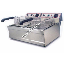 ELECTRIC FRYER FESD-6L-SD (6 + 6 LITERS)