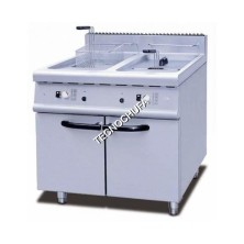 DOUBLE GAS FRYER WITH CABINET FGMD-40L (20 + 20 LITERS)
