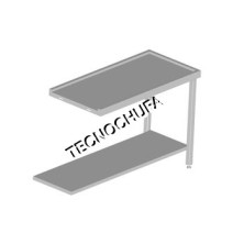 PREPARATION TABLE MLR-60 (DISHWASHER WITH DOME)