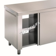 CENTRAL WARM TABLE DOUBLE DOORS MCA70180