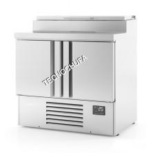 REFRIGERATED TABLE ME-1000 EN FOR PIZZAS / SALADS