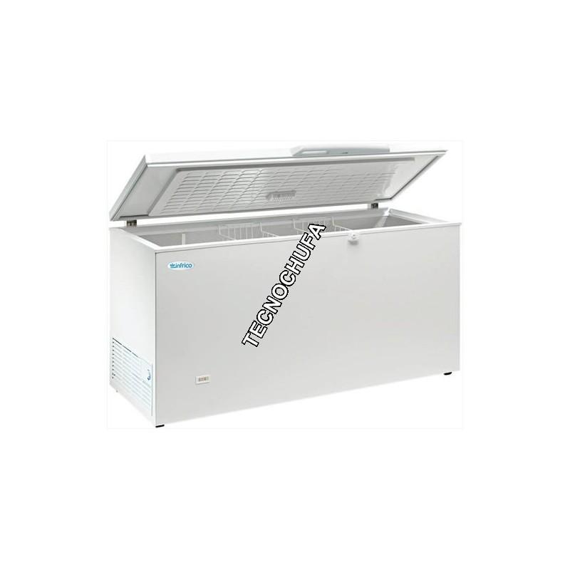 ARCON CONGELADOR TAPA ABATIBLE HF500-INOX- ENVIO GRATIS