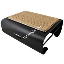 BUFFET MODULE WOOD CUTTING BOARD FOR BREAD 1/1 BLACK SVGN1B-NER