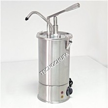 MANUAL SAUCE DISPENSER DMS-3 FOR PASTRY (WITH THERMOSTAT)