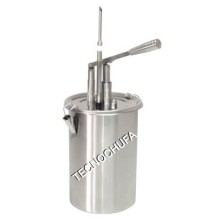 MANUAL INJECTOR-DISPENSER IDM-5 (INOX) FOR PASTRY